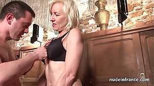 Sexy amateur french mature deep analized there cum 2 brashness in a bar