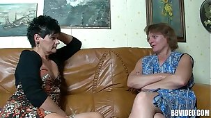 Two mature german sluts sharing load of shit with reference to trinity