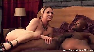 Gung-ho Tie the knot Fucks BBC For Hubby