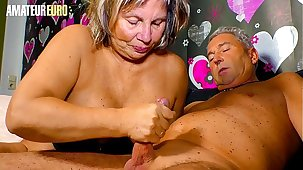 Inexpert EURO - German Granny Karin A. Sucks And Fucks With Hubby Ask preference A Pro