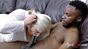 AgedLovE Lacey Starr Interracial Hardcore Rigidity