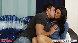 Hot matriarch India Summer gets pussy fucked with an increment of nailed