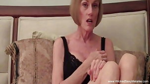 Mature Swinger Plays Almost A Stranger