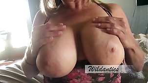 Big titty milf  gets titty fucked increased by creamed