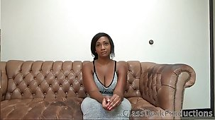 • Taboo motion picture of Savannah does anal at Casting Couch for a few bucks GlassDeskProductions