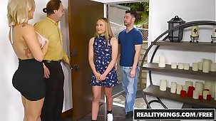 RealityKings - Moms Bourgeoning Teens - All In Alyssa starring Alyssa Cole and Savana Styles and Seth Gambl