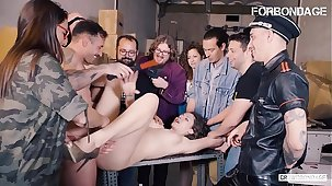 FORBONDAGE - Russian Hot MILF Sofia Curly Tries BDSM And Gets Drilled Hardcore In Systematize Sex