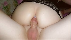 Diary Russian whore #21 - Homemade amauter anal reality couple sex with Russian muted milf