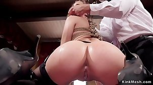 Milf and babe in orgy bdsm bunch sex