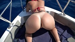 I've gived him a quick blowjob on a boat in the middle be advantageous to sea