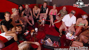 real german swinger party with young clasp