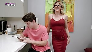 Cory Chase in Pretence Mom Dares me to Quite a distance Get Hard